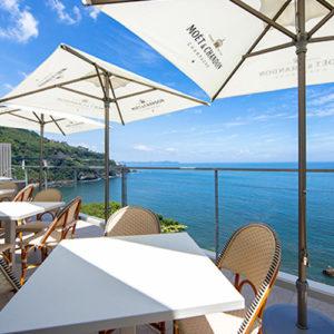 イヴレスホスピタリティの運営する熱海のレストラン
