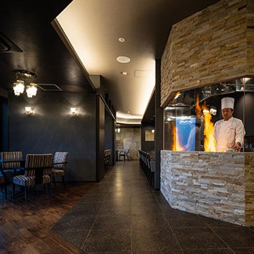イブレスのホテルUMITO the salon IZUのレストラン